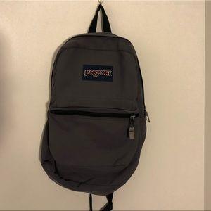 Dark Grey Jansport Backpack
